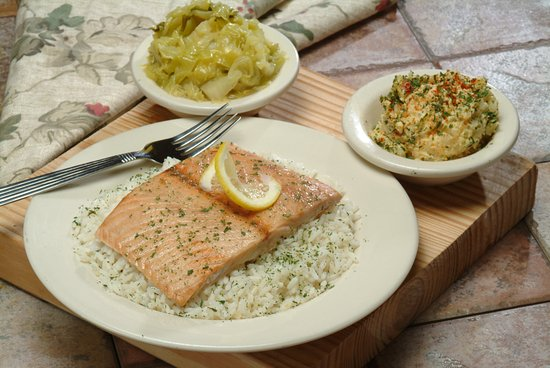 Morrow, GA: Salmon and Rice