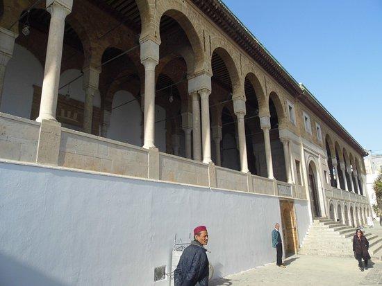 Zitouna Mosque: Front of mosque