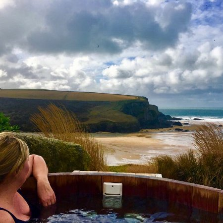 The Scarlet Hotel: Hot tub - must do!