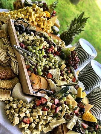 Bourne, MA: Fresh fruit and cheese board