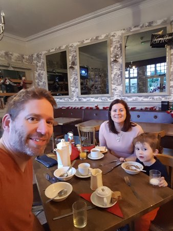 Middlewich, UK: Fantastic breakfast! Alex eats like two horses!!!