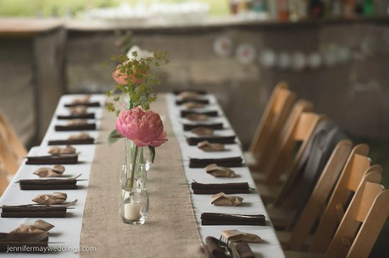 Blooming Grove, NY: A dinner table for a private event