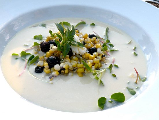 ‪‪Blooming Grove‬, نيويورك: Corn soup‬