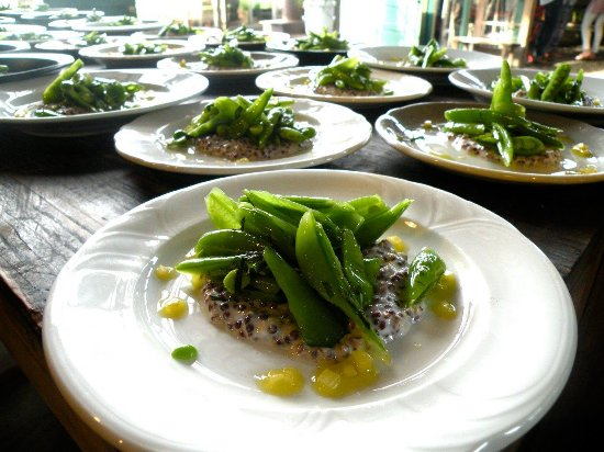 Blooming Grove, Estado de Nueva York: A snap pea salad