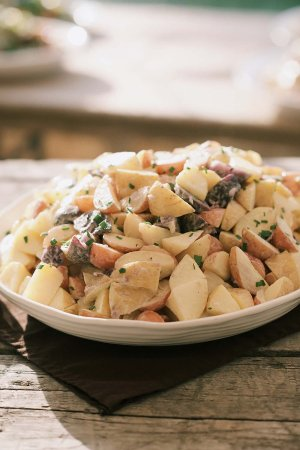 Blooming Grove, Nova York: Farm potato salad