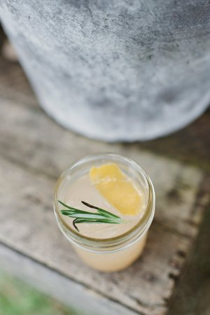 Blooming Grove, NY: A farm cocktail with rosemary