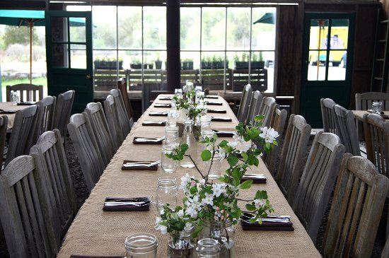 Blooming Grove, NY: An event table