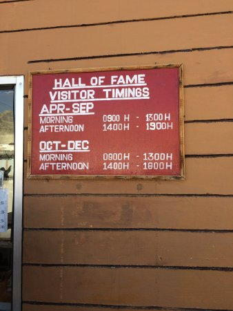 Hall of Fame: Timing