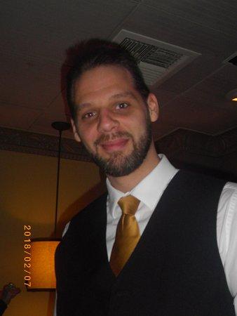 Creve Coeur, MO: Our waiter, Josh