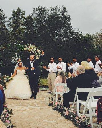 Rose Garden Wedding | Wedding At Leu Gardens Rose Garden Bild Von Harry P Leu Gardens