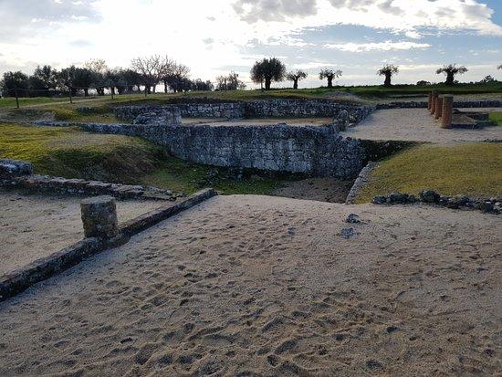 Ruínas Romanas de Villa Cardílio: ruínas