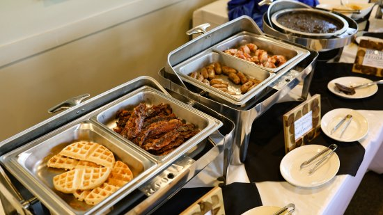 unlimited sunday brunch buffet with waffles omelets bacon and rh tripadvisor com