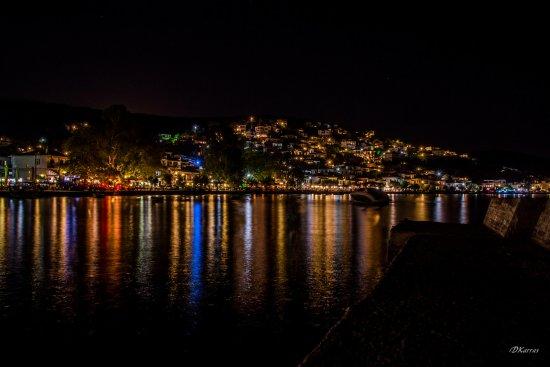 Afissos, Grecia: Night view