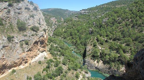 Villalba de la Sierra, Испания: Vistas al Júcar. Serranía de Cuenca