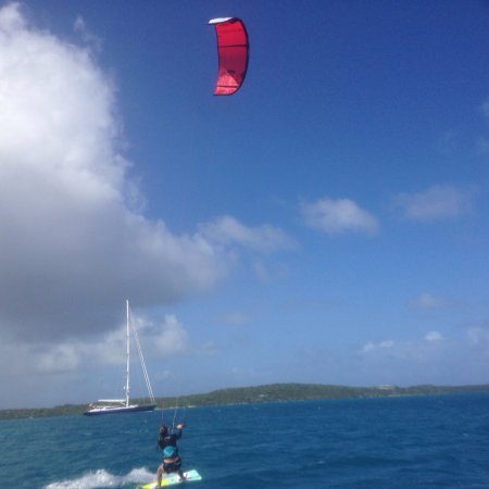 Freetown, Antigua: An experience we will never forget! Thanks to the incredible team at 40knots!!