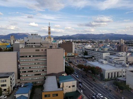Richmond Hotel Aomori: 部屋から見た青森市内