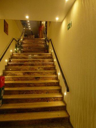 Aufgang zur Ebene 2