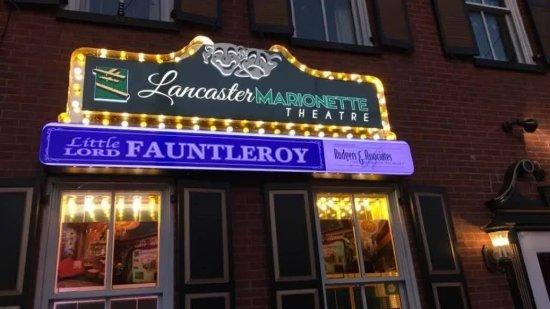 Lancaster Marionette Theatre : Theatre's Marquee