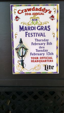 Jensen Beach, FL: celebrating Madri Gras