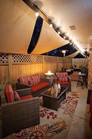 Magnolia Spa & Wellness: Courtyard Festivites