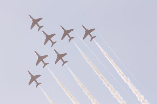 Leuchars, UK: The old Air Show
