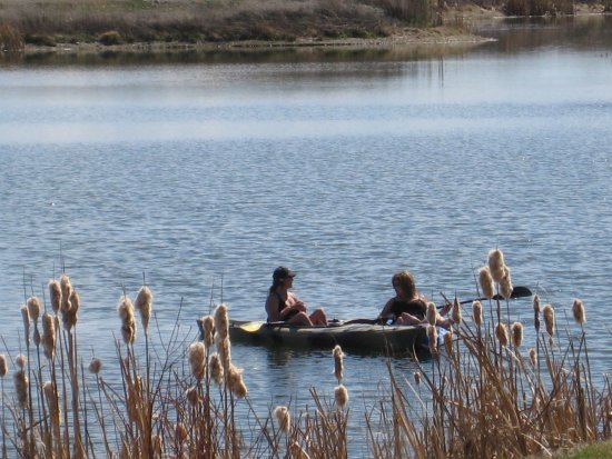 Boating and Fishing is a popular activity on the Zillah Lakes