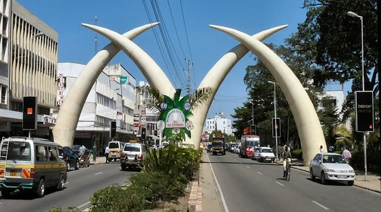 Image result for Mombasa town centre