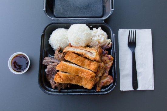 Temple City, CA: Ono Hawaiian BBQ BBQ & Katsu Mix