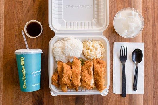 Temple City, CA: Ono Hawaiian BBQ Chicken Katsu Plate