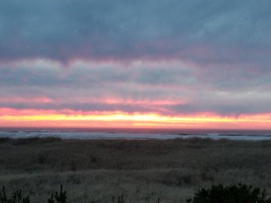 Ocean Park, WA: January sunset