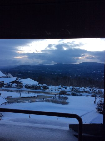 Trapp Family Lodge Outdoor Center: Looking out my window