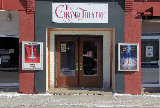 The Grand Theater - Indian Head Saskatchewan