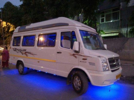 New Delhi Ola Tempo Traveller Tempo Traveller Rental Ola