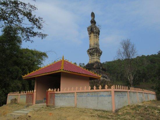 Xieng Khouang, Laos: The main chedi of Wat Ban Phong