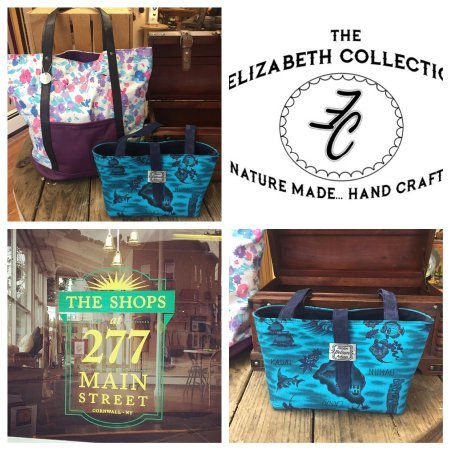 The Elizabeth Collection  Handbags made from Italian Leather   vintage  fabrics 77529c1360