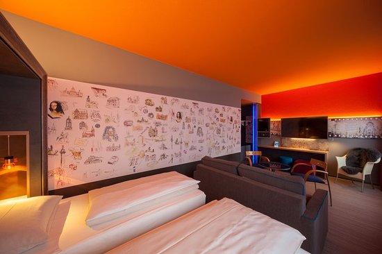 Guest room picture of designhotel congresscentrum for Wienecke xi designhotel congress