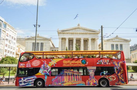 Athens, Piraeus, Riviera Hop-On Hop-Of City Sightseeing Tour