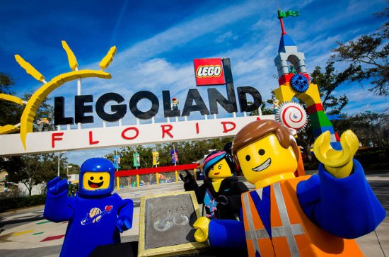 Florida Legoland Resort With Rides...