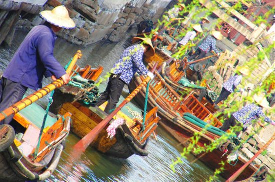 Private Tour: Xitang Water Town from ...