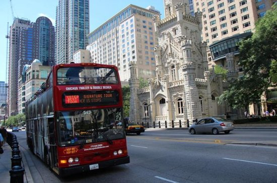 Chicago Sightseeing Hop-On Hop-Off Bus Tour with Art Institute