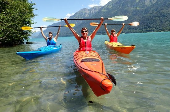Excursion en kayak sur le lac...