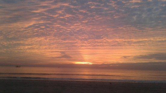 Gonsua Beach: Beautiful sunset on 7th February