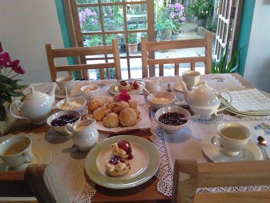 Mae Raem, Thailand: Cream teas