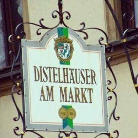 Gerolzhofen, Deutschland: Distelstube am Markt
