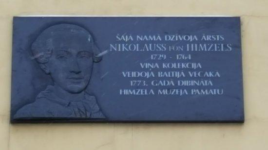 Memorial Nikolaus von Himsel