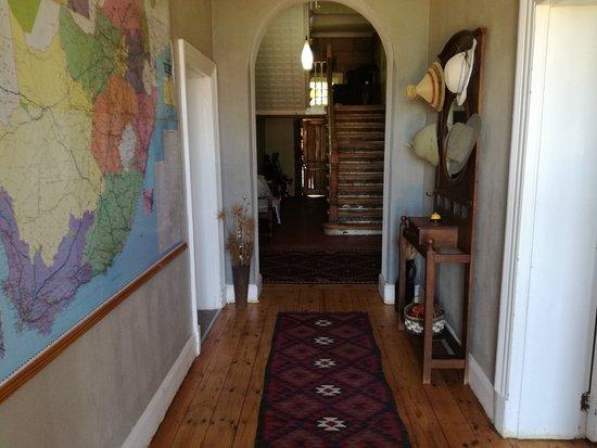 Ladybrand, Νότια Αφρική: Foyer at Heritage House