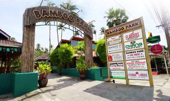 Mae Nam, Thailand: Bamboo Park Maenam Koh Samui Entrance