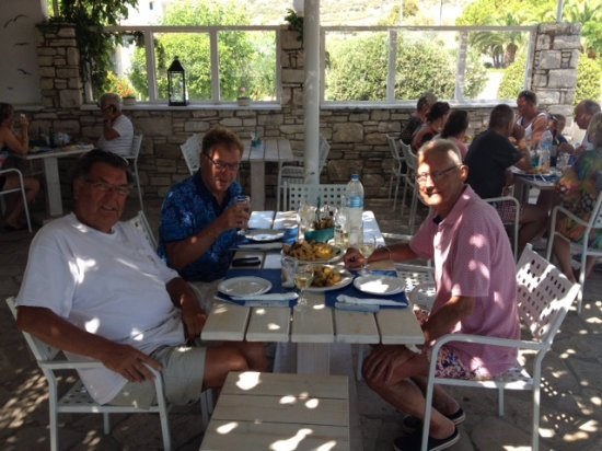Fito Aqua Bleu Resort : restaurant  Almyra, Greek dishes