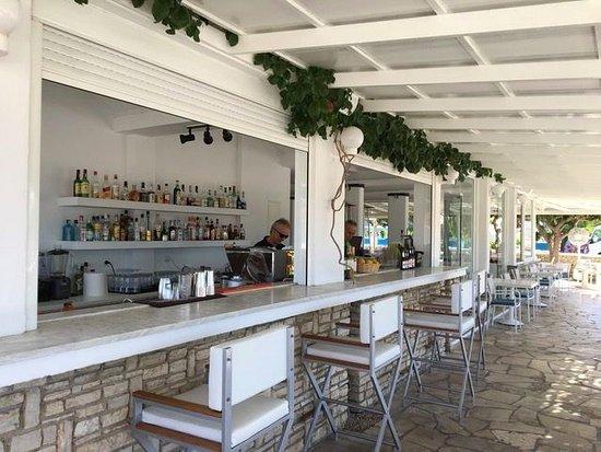 Fito Aqua Bleu Resort : restaurant Almyra, before starting