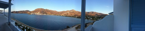 Studios Amfitriti: Panoramic view from our room